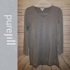 Pure Jill Luxe Tencel Tunic Top | Size  XS